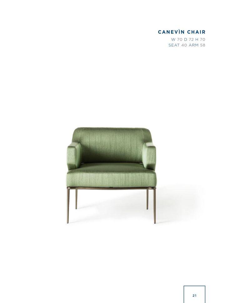Rubelli Casa - Canevin chair