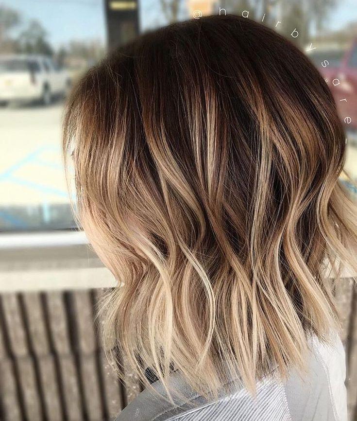 Oh so beachy! ? Farbe und Stil von @hairbysare_. Sie hat mit #KenraColor #Sim…