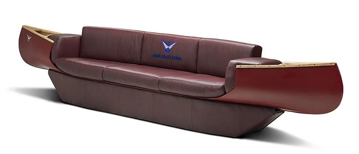 Canoe Couch, SOLD to 1 wall Street NY.