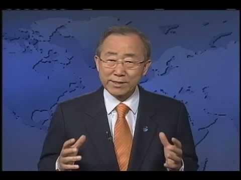 UN Secretary General message on Youth 21
