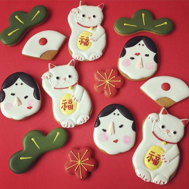 Japanese New Year cookies #food
