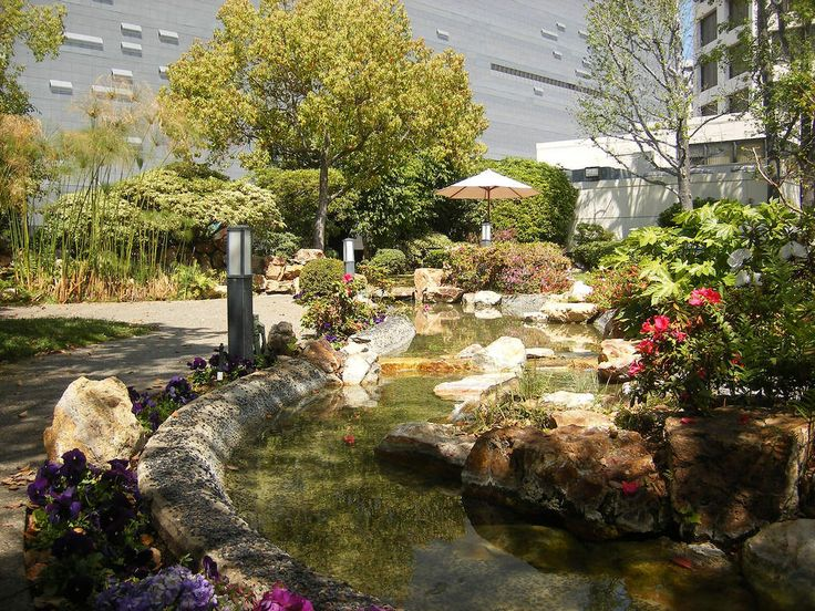 Kyoto Garden atop the DoubleTree by Hilton Downtown Los Angeles -                                120 S Los Angeles St, Los Angeles, CA 90012