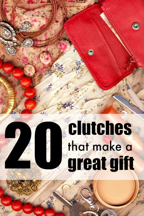 What a cute collection of clutches! They would make a fantastic gift for me, hint hint!