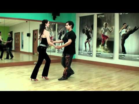 Beginners Salsa Steps & Basic Turns to Slow Salsa Music - From Salsa Beginners lessons video