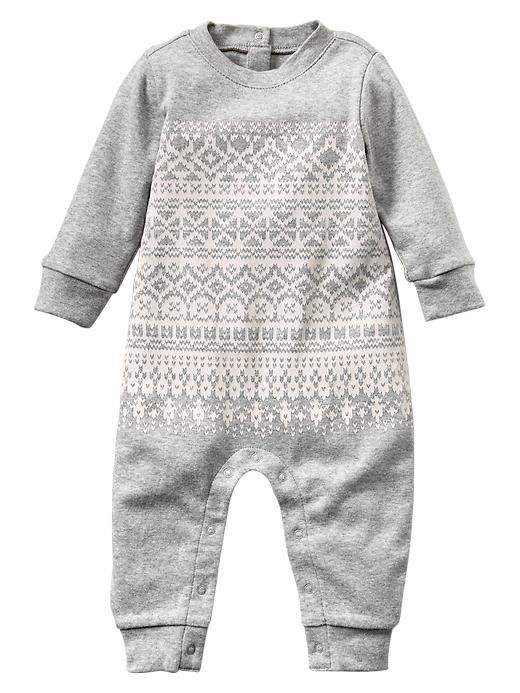 Baby one piece for winter!