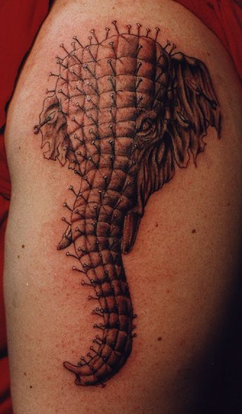 ELEPHANT TATTOO /images | blekko: Tattoo Ideas, Unique Elephant, Hellrais Elephants, Elephants Tattoo Design, Body Art, Hellrai Elephants, Elephant Tattoo Design, Unusual Tatoo, Elephant Tattoos