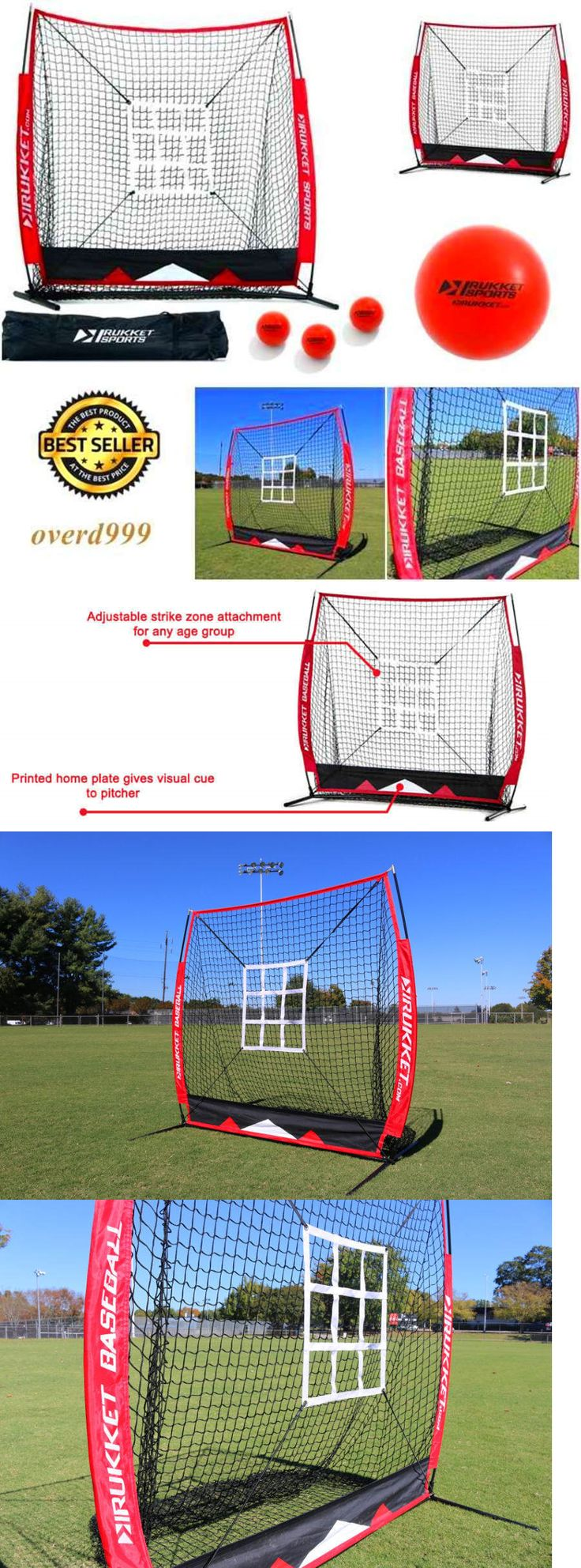 Batting Cages and Netting 50809: Jugs Baseball Softball Hitting Instant Screen Target Net Frame Practice Training -> BUY IT NOW ONLY: $105.23 on eBay!