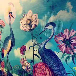 Our bathroom wall #summer #animal #design