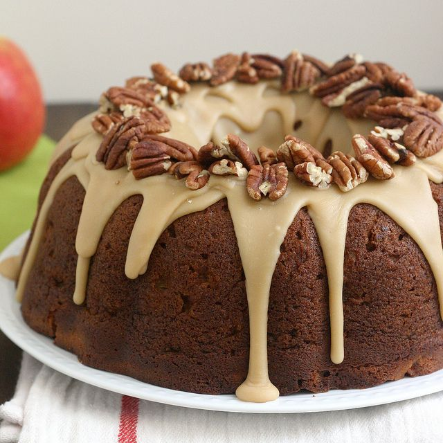 Apple-Cream Cheese Bundt Cake by @Tracey Wilhelmsen (Tracey's Culinary ...