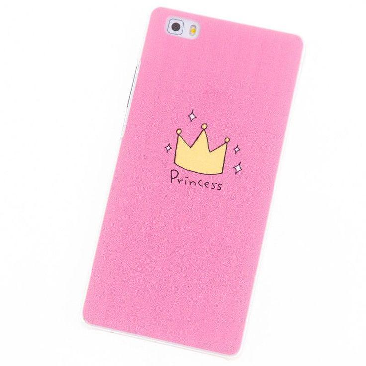 Phone Cases for Huawei Ascend P8 Lite case mini P8lite P6 P7 P8 P9 Plus Pink Heart Stripe cover Coque bag Brand Screen protector