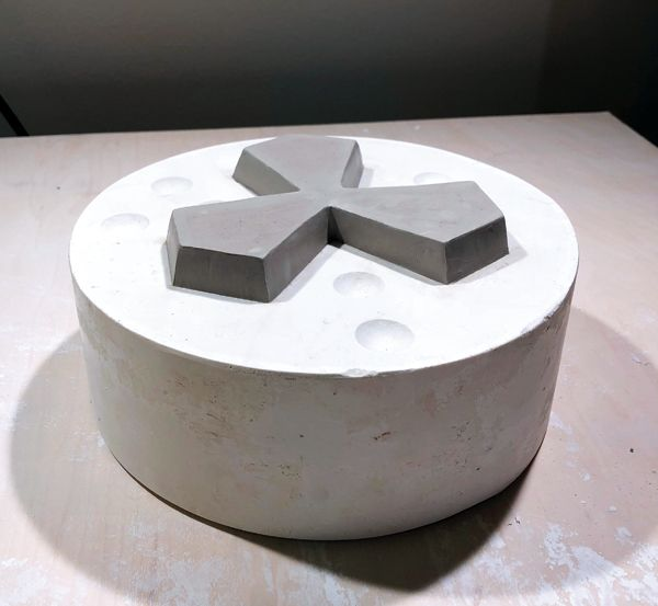 How To Make A Plaster Mold For Slip Casting Plaster Molds Plaster Crafts Ceramic Art