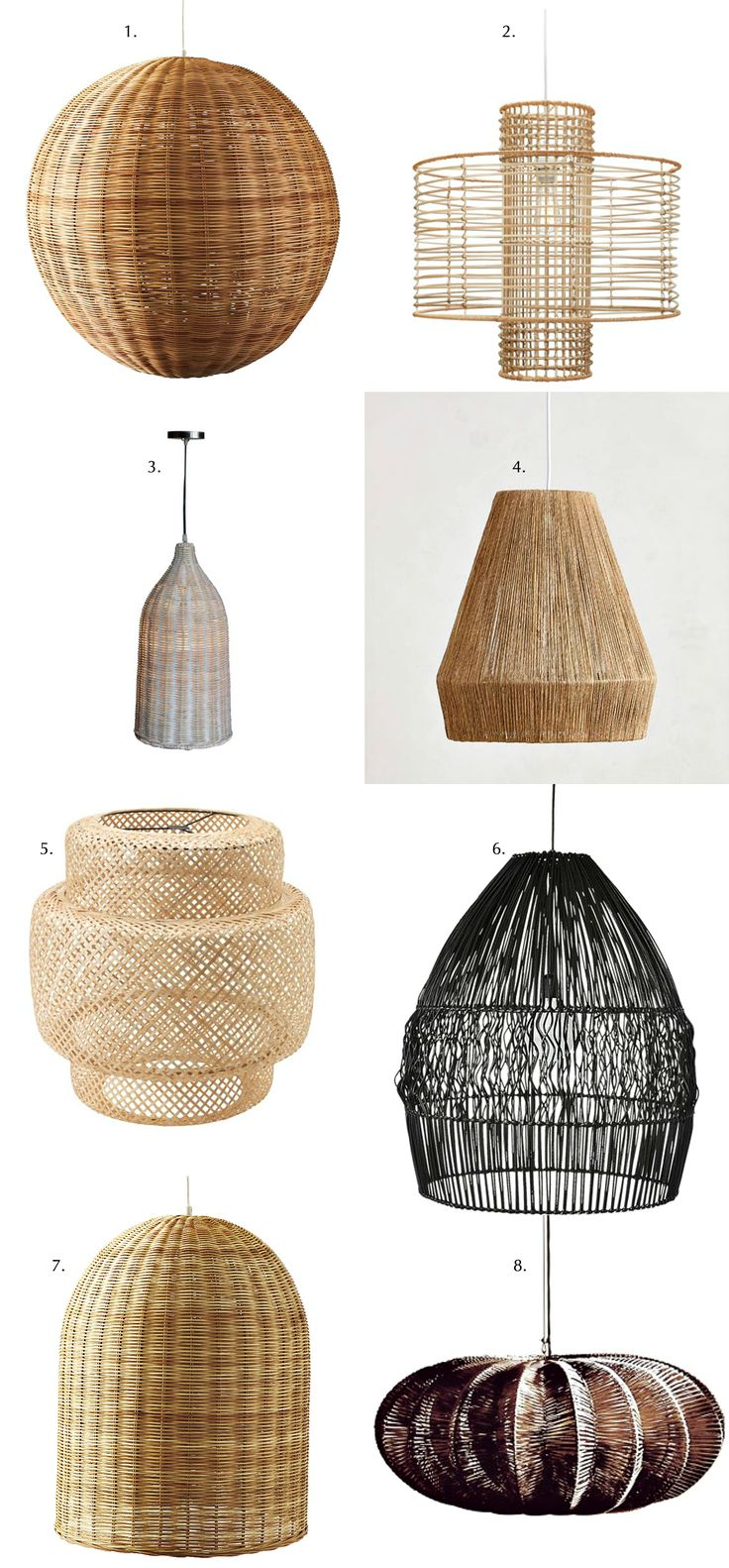 High Quality Blissful Corners: Wicker Pendant Lights || Bliss Awesome Design