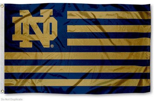I love this Notre Dame Nation Banner Flag!
