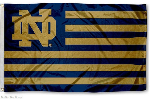 I love this Notre Dame Nation Banner Flag!
