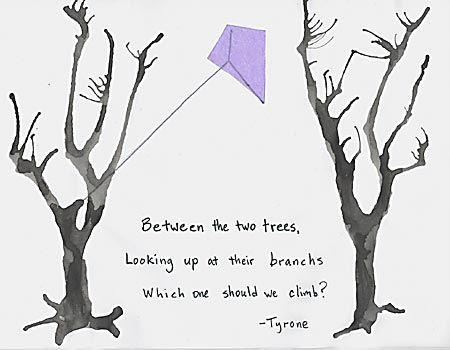 Japanese Haiku Art Japanese kite haiku