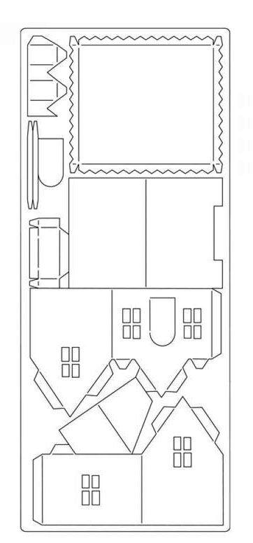 die besten 25 papierh user ideen auf pinterest weihnachtspapier hausvorlage und weihnachtsh user. Black Bedroom Furniture Sets. Home Design Ideas