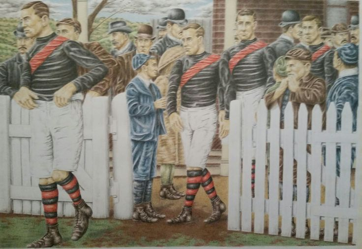 Essendon at East Melbourne Cricket Ground 1909