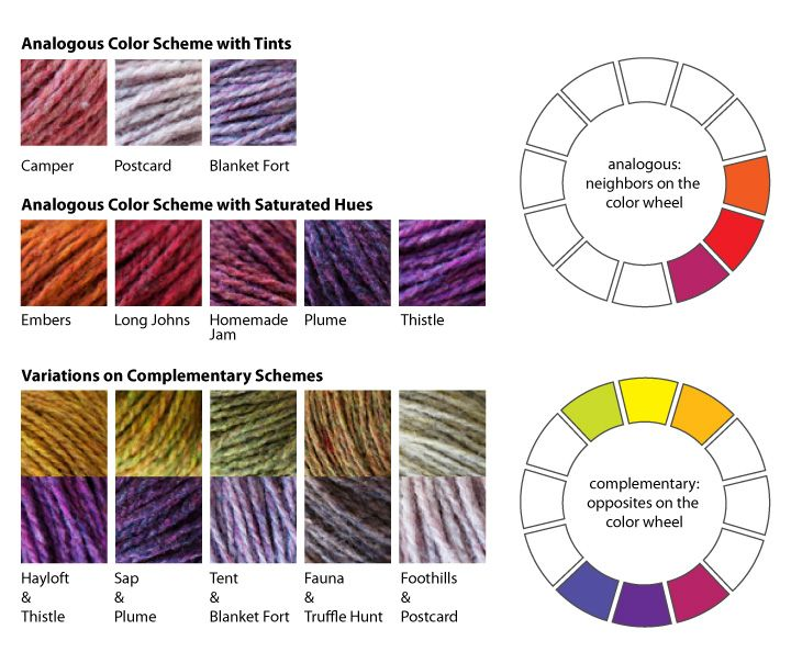 Knitting Color Wheel : Best images about knitting techniques on pinterest