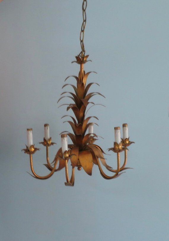 French Chandelier Golden Leaves 6 Arm Light Hanging Dining Entry Chandelier Lamp Baroque Decor French 21 X 20 Inches 40 Inch Ht French Chandelier