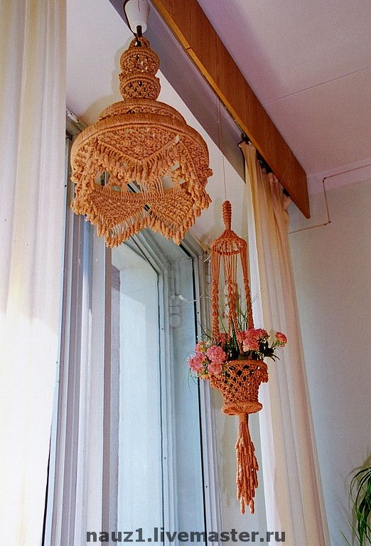 1279 best Macrame Lampshades images on Pinterest | Lamp ...