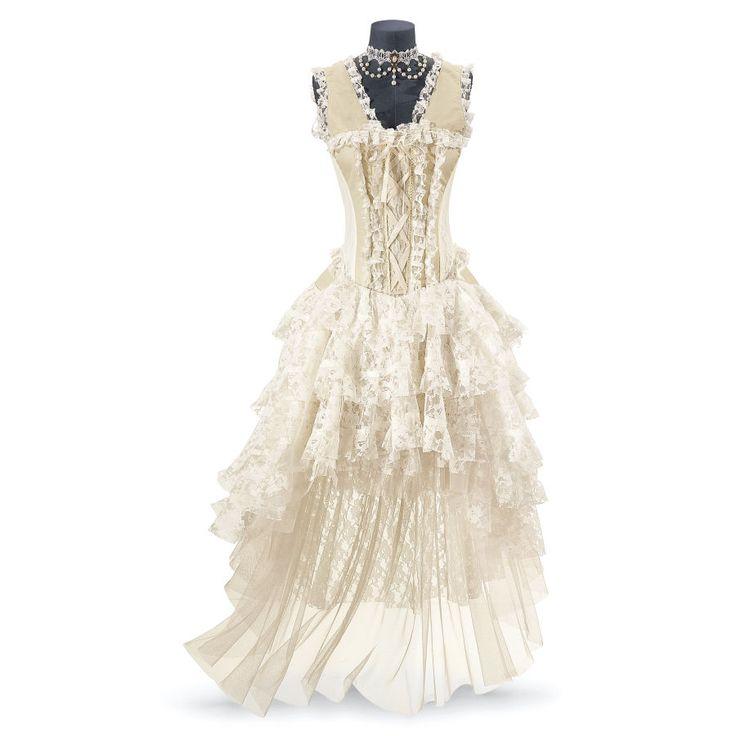 Gothic Corset Dress - Women's Clothing & Symbolic Jewelry – Sexy, Fantasy, Romantic Fashions