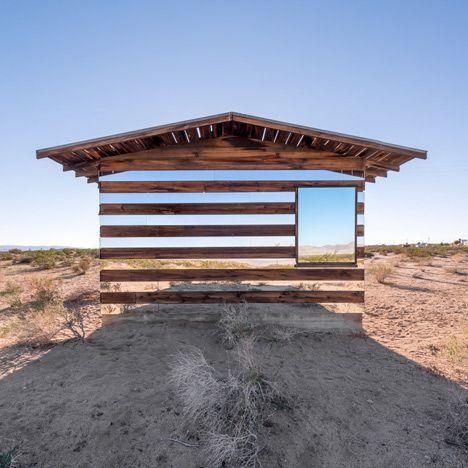 Lucid Stead installation by Phillip K Smith III