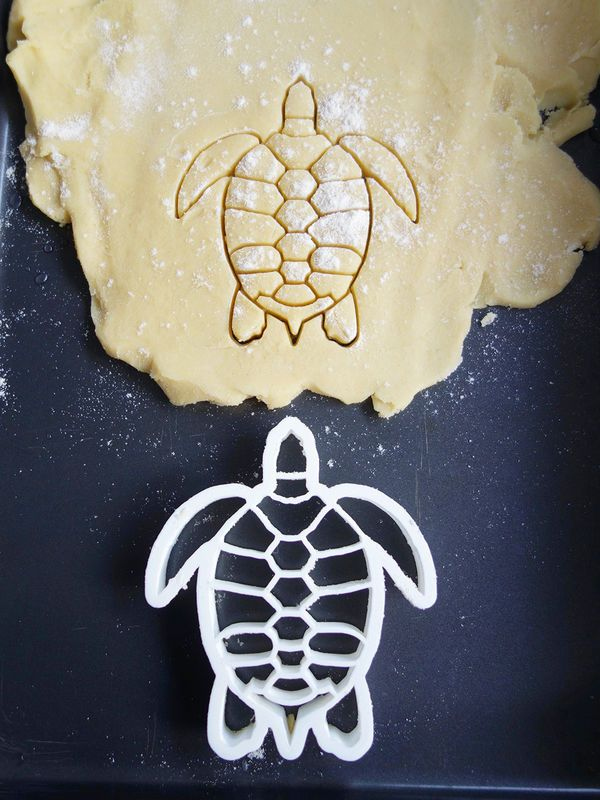 Sea Turtle Cookie Cutter by Printmeneer
