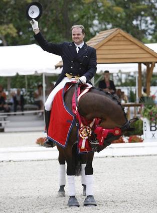 Todd Flettrich's New Ride Will Be Cherry Knoll Farm's German Grand Prix Gelding Revolverheld-- Dressage News