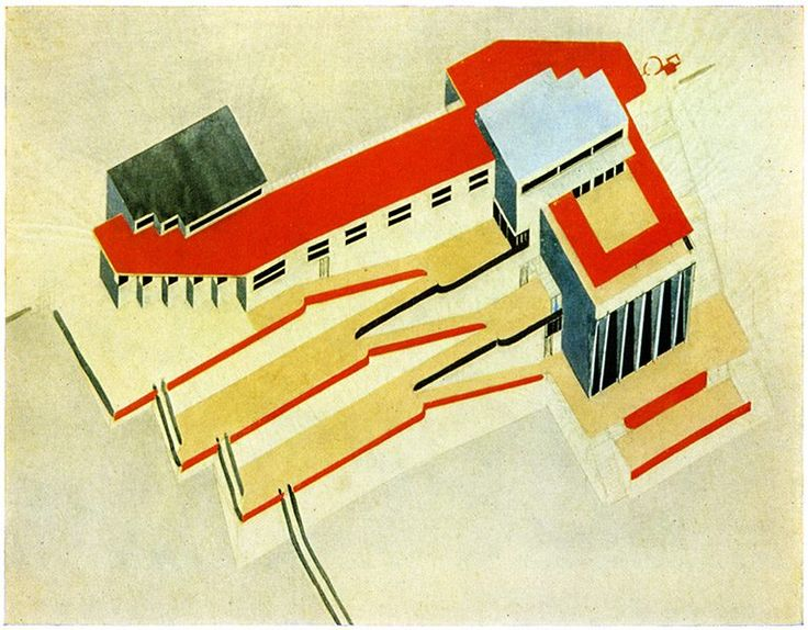 books from 1922 are his best works, exhibition of the architect was held in vitebsk school