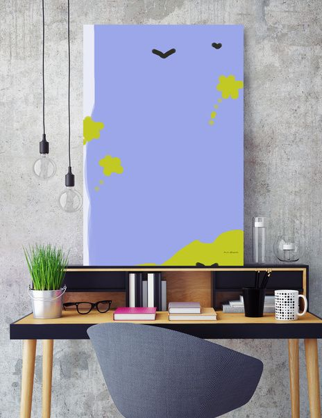 Discover «room826», Limited Edition Canvas Print by Nonita Papadopoulou - From $59 - Curioos