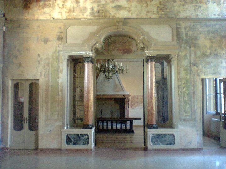 "Location: Villa Rusconi, Castano Primo (Milano) Exhibition #AdrianoAnnino ""Walls have mouths to tell"" 16 – 24 maggio 2015 Curated by Fabio Carnaghi Promoted by ARK Milano"