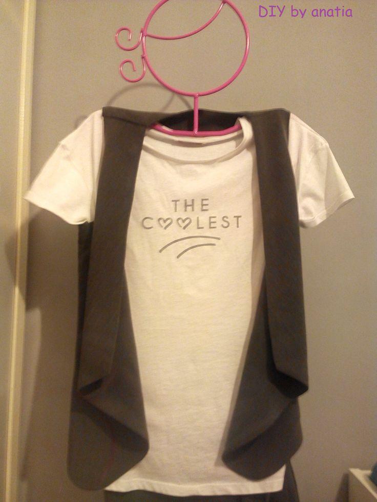 chaleco geometrico geometrico vest