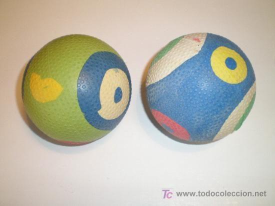 Recuerdo bien este tipo de pelota, todo el mundo tenía una.