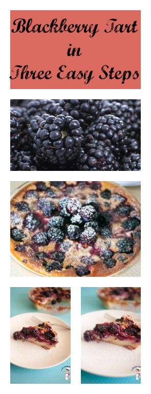 This Blackberries Tart recipe is simple and way too easy. You can use fresh or frozen blackberries. The best part is, there are just three easy steps by food blog A Homemade Chef