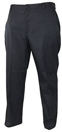 Nike Mens Flat Front Golf Pants (34-30, Black)
