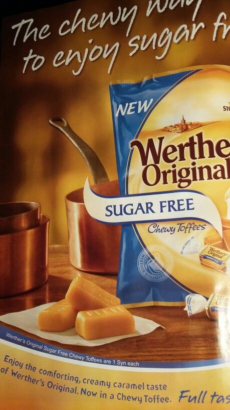 Werthers sugar free 1 syn each