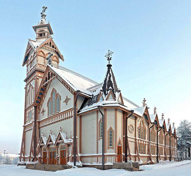 Kajaani Church, northeastern Finland, region of Kainuu | Kajaanin Kirkko, Finland