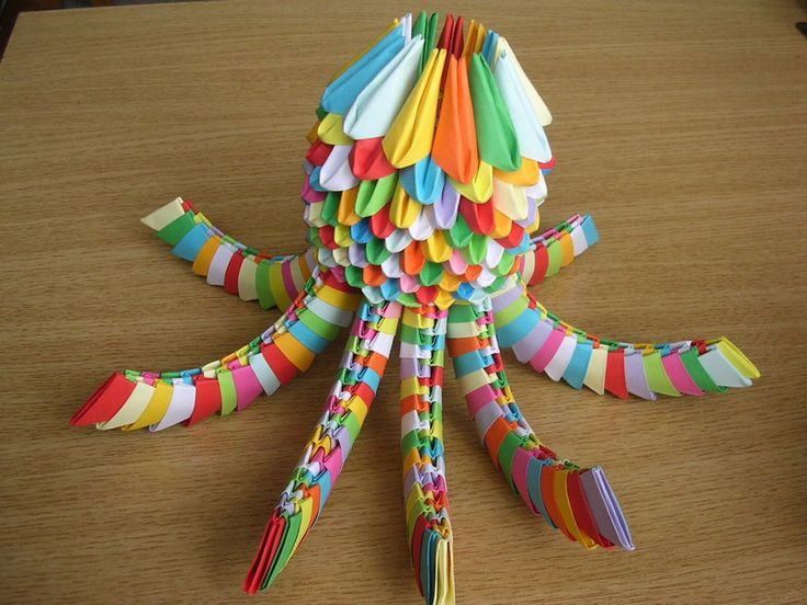 Image detail for -3D origami - Octopus -big by ~Ketike on deviantART