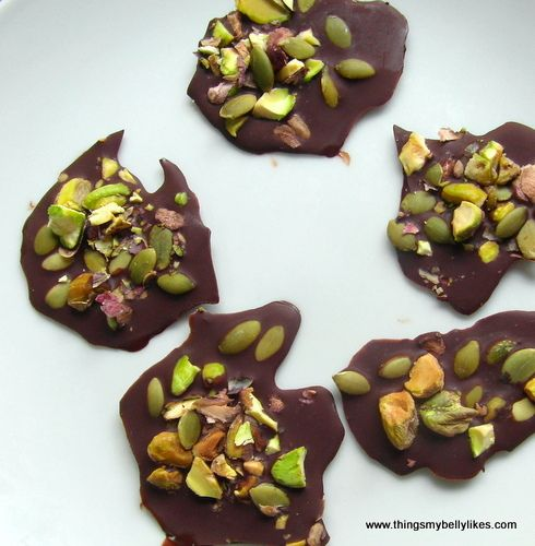 ... Drops with Pistachio & Sea Salt. A salty n sweet, low-carb treat