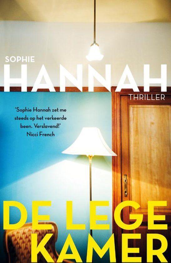 De lege kamer, sophie hannah. Boek 20 van 100. Psychologische thriller, kaft klinkt heel spannend!