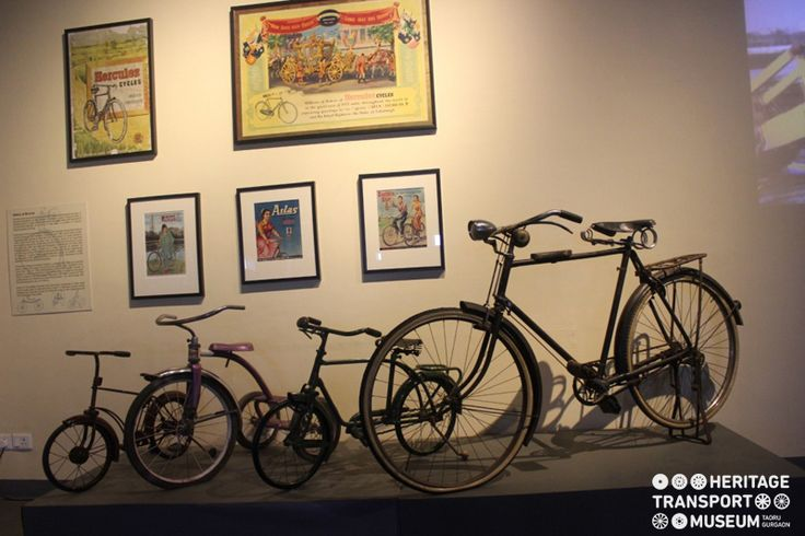 The cycle section of museum showcases the evolution of cycle industry in India. There are beautiful cycle advertisements portraying the freedom, the way women used to travel with the coming of bicycles!