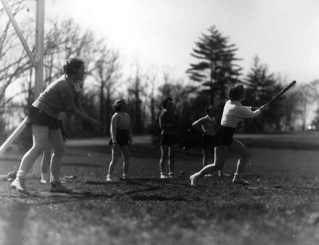 Womens softball, 1936 by Michigan State University Archives, via Flickr