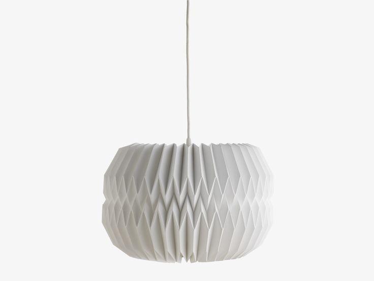 KURA WHITES Paper White paper large drum shade - Lamp Shades- HabitatUK