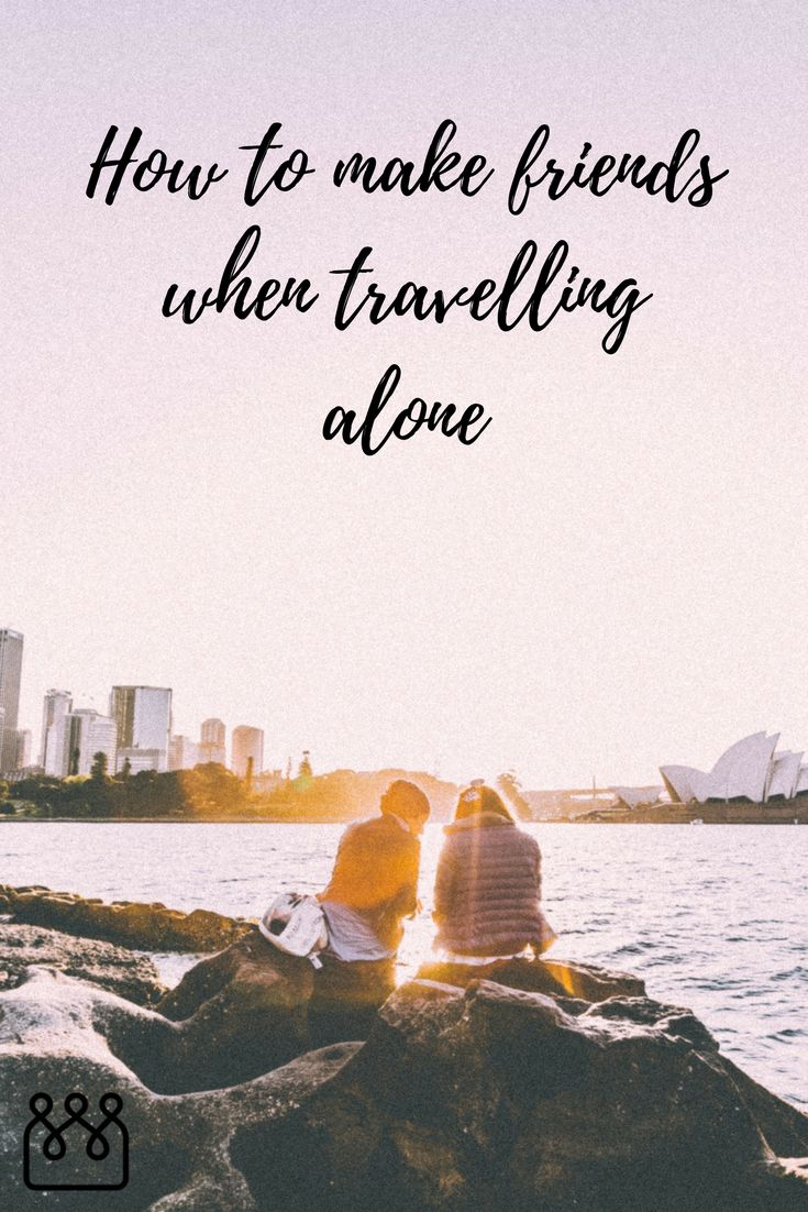 Sometimes travelling solo is the best way to travel. But it can be lonely. Here are 6 tips to help you make friends when travelling.