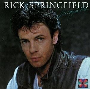 """Rick Springfield - love love love """"Jessie's girl""""."""
