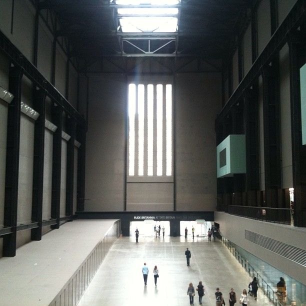 LONDON, UK: TATE MODERN. London's premier art destination with new and classic works, along with stunning interactive installations in the Turbine Room of the former power station.
