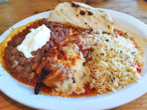 Chile Relleno @ Tune-Up Cafe: Tune Up Cafe, Restaurant Food, Chile Relleno, My Food, Yummy Stuff