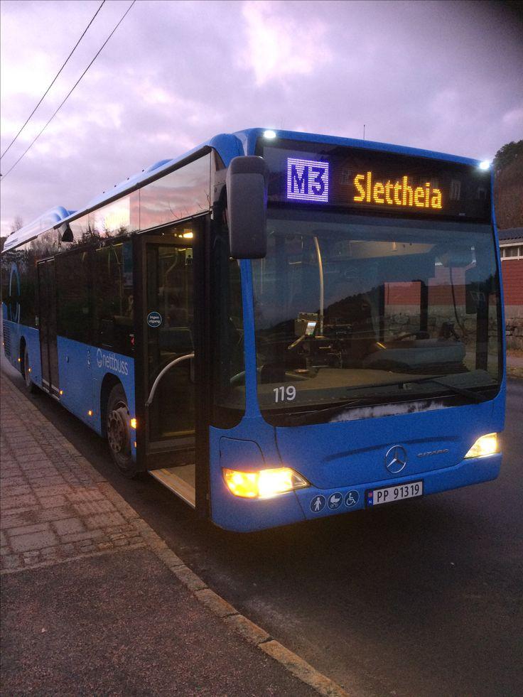 Mercedes benz Citaro er mye bedere buss og kjøre