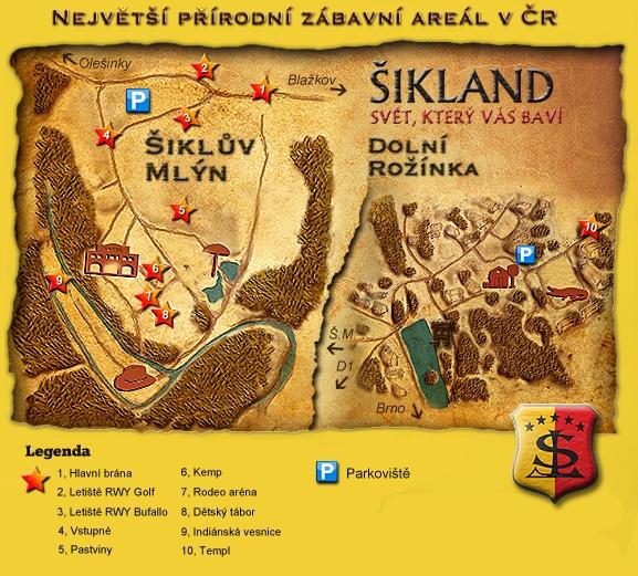 Šikland Vysočina - největší přirodní zábavní areál