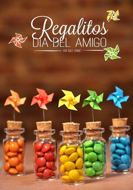 Made with love by Agus Y.: Idea Regalito Día del Amigo